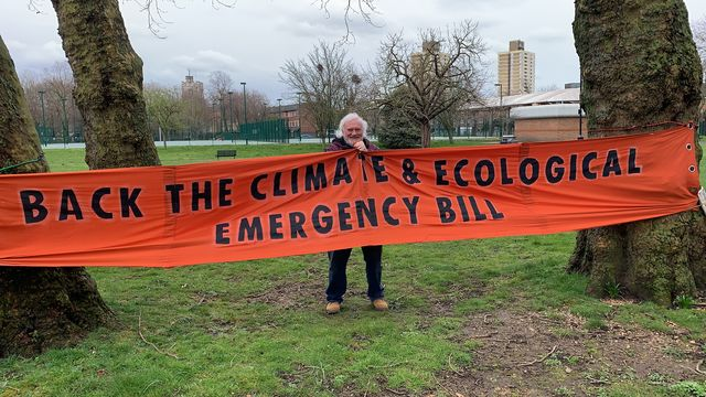 Extinction Rebellion Newham member Mike Bold has urged Newham's members of parliament to back the climate and ecological emergency bill